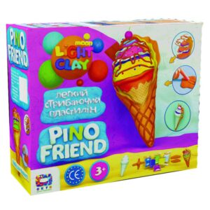 Set of light jumping Clay Pino Friend Icy TM Moon light clay 70039