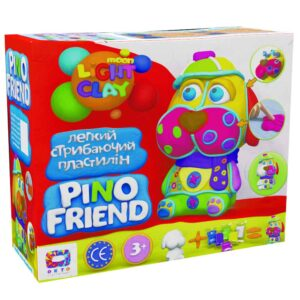 Set of light jumping Clay Pino Friend Fred TM Moon light clay 70035