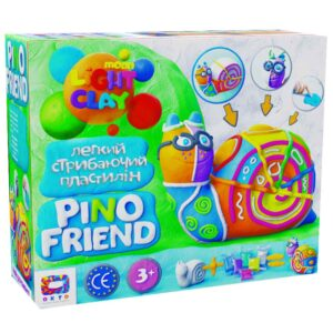 Set of light jumping Clay Pino Friend Railly TM Moon light clay 70037